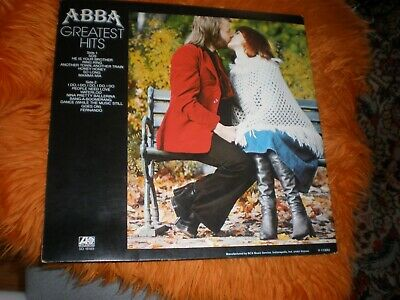 ABBA – Greatest Hits  SLIP VINYL JACKET ONLY NO RECORD JUST THE SLIP