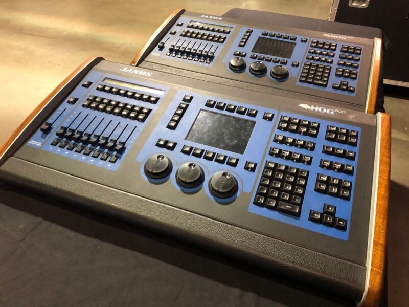 JANDS HOG 500 LIGHTING CONSOLE by HIGH END SYSTEMS