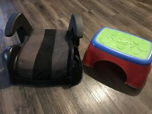 Booster seat and stool
