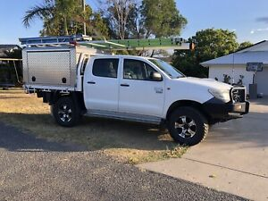 2011 Toyota Hilux Workmate (4x4) 5 Sp Manual Dual Cab P/up