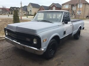 1970 C10 CHEVROLET LONG BOX PROJECT TRUCK
