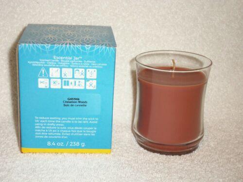 Partylite Cinnamon Woods Escential Jar -- NIB