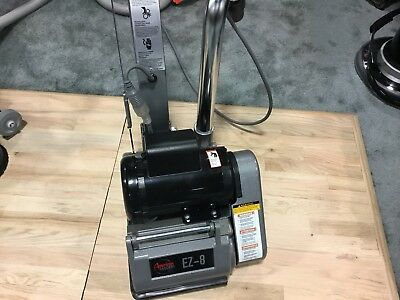 New American Ez-8 Expandable Drum Sander Demo 1 Hp Professional Floor Power