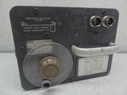 GR General Radio Company Type: 1422-CB Precision Capacitor 1100 PF