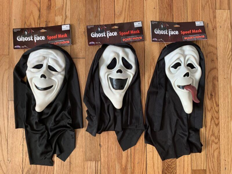 Scary Movie Ghostface Spoof Mask Set