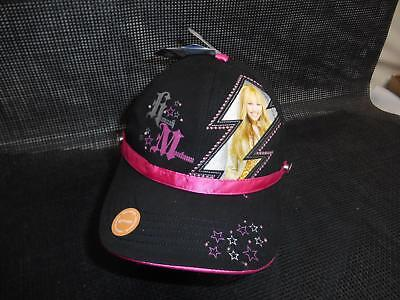 Old HANNAH MONTANA BASEBALL CAP HAT Advertising Disney Berkshire Fashions NWT
