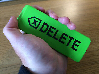 Giant Jumbo Big Green Eraser Rubber 140mm Long Delete