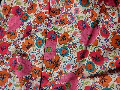 Designer Cotton Lawn Floral Print Fabric 100% Cotton 55