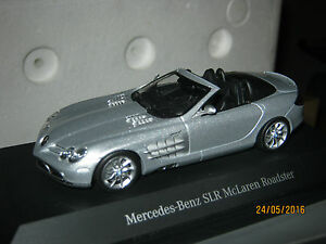 Mercedes SLR Mc Laren roadster Minichamps promo Mercedes 1:43 MINTB - Italia - Mercedes SLR Mc Laren roadster Minichamps promo Mercedes 1:43 MINTB - Italia