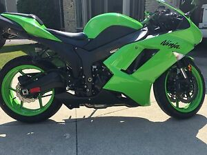08 Kawasaki Ninja ZX6r (Safetied / Mint shape)