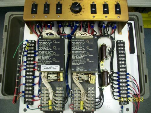MORSE 1 HP DRIVE 120V , CA1100 , W93515