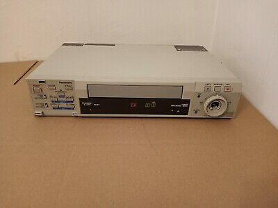 Panasonic Ag-rt650p Vhs Vcr Real Motion Time-lapse Recorder
