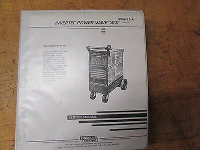 Lincoln Electric Invertec Power Wave 450 Service Manual