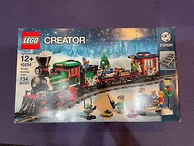 Brand NEW and Sealed LEGO 10254 winter holiday train