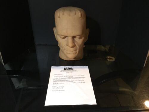 Don Post 1960's Boris Karloff FRANKENSTEIN Prototype Mask Mold Original w/COA