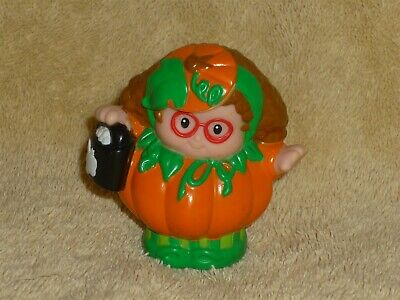 Fisher Price Little People Halloween Pumpkin Girl Maggie