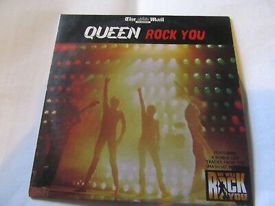 "Queen, ""Rock You"" (Mail on Sunday promo CD) segunda mano  Embacar hacia Spain"