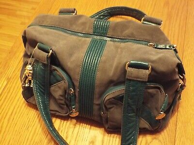 Kipling Katie Faux Suede Leather Shoulder Travel Hand Bag  Robot Monkey (D)