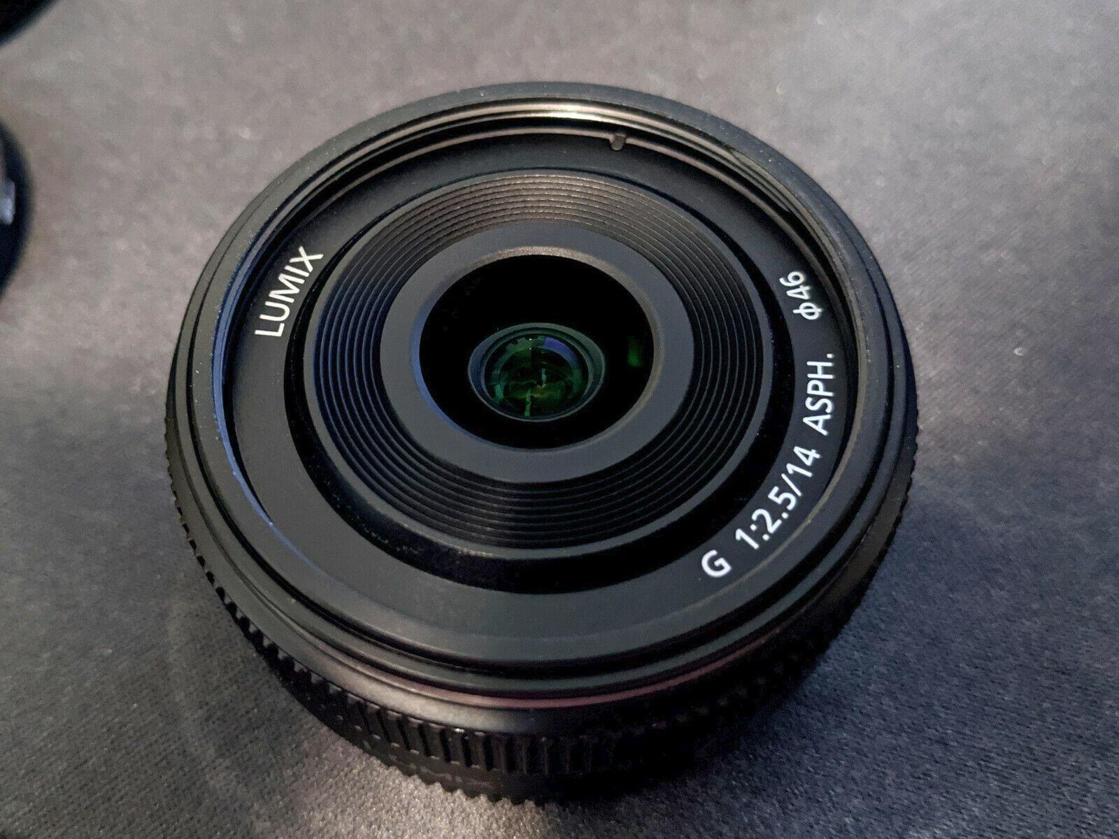 Panasonic Lumix G 14mm F/2.5 II Aspherical AF Lens - $149.99