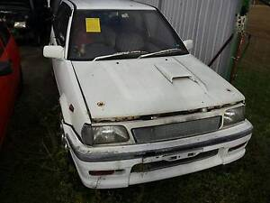 Toyota Starlet turbo S ep71 wrecking all parts available Bundamba Ipswich City Preview