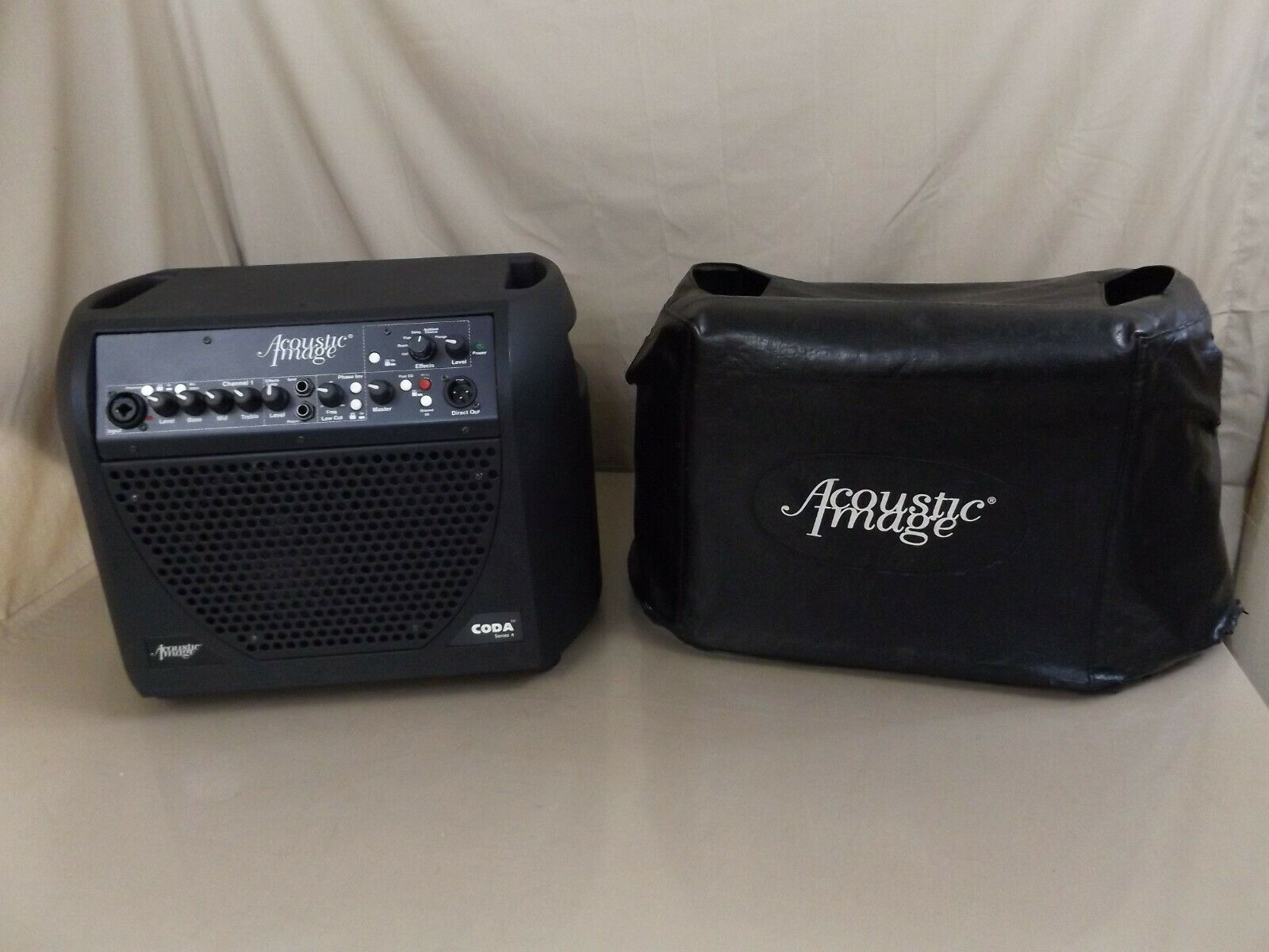 Acoustic Image Coda Series 4 Guitar Combo Amplifier Amp Bag Cord WORKS  - $285.00