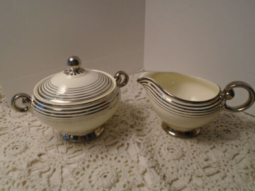 Taylor Smith & Taylor USA/ Vintage Creamer and Sugar Set