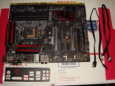 MSI Performance Intel Z170A GAMING PRO LGA 1151 DDR4 USB 3.1 Motherboard hh831