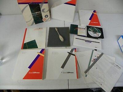 "Used, QuarkXPress Passport 3.32 Mac/PowerMac Box Set Cd-Rom + 3.5"" Floppy Disk Manuals for sale  Atlanta"