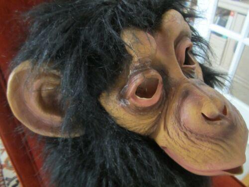 Fun World Div Mask FULL HEAD Monkey Planet of the Apes Halloween Mask 2014 RARE