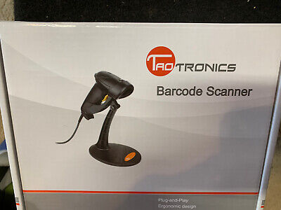 Taotronics  30-88001-003 Usb Barcode Scanner With Stand