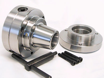 5c Collet Chuck Closer With Semi-finished Adp 2-14 X 8 Thread Back Plate