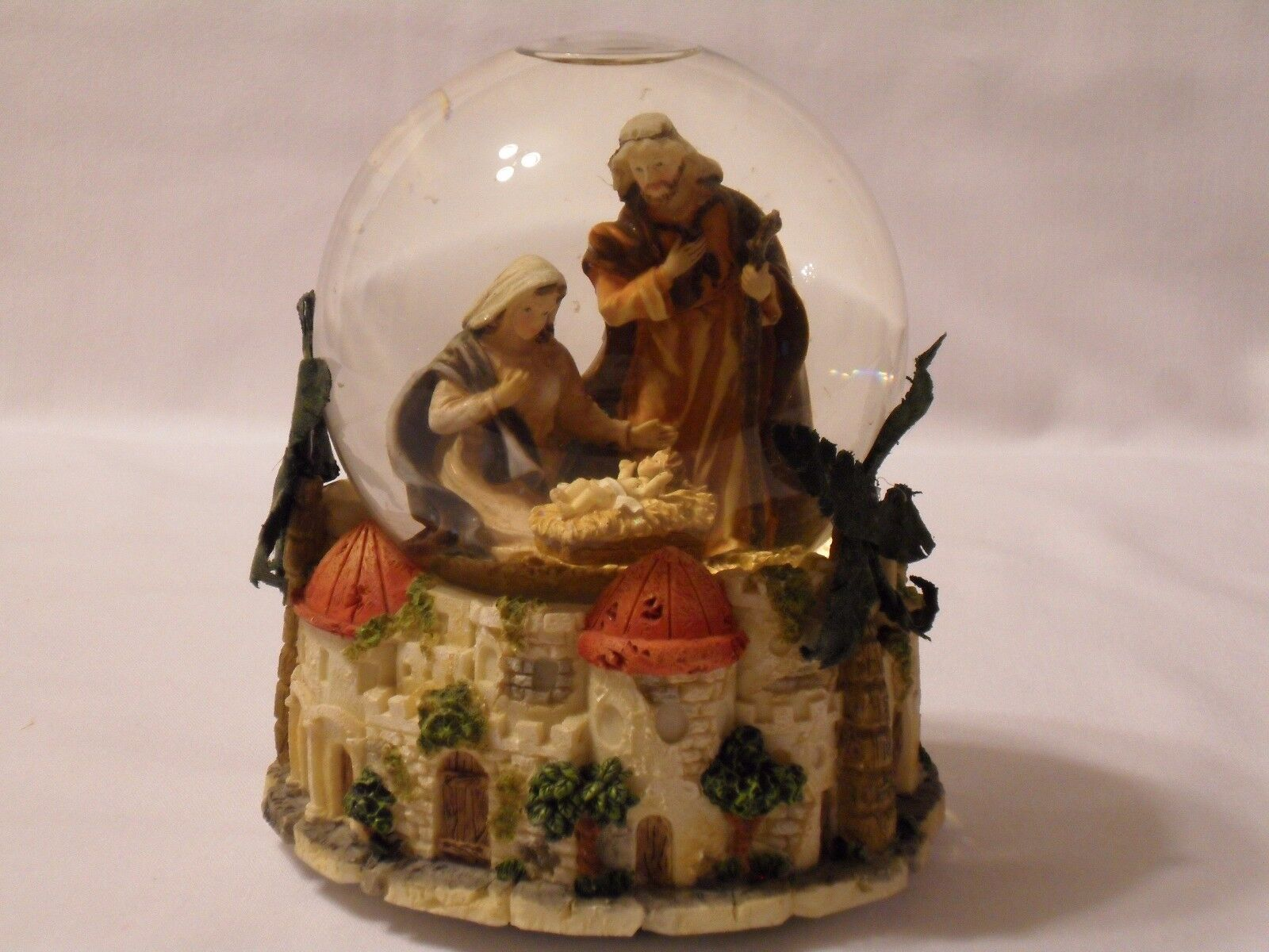 Nativity Bethlehem Snow Globe - $15.00