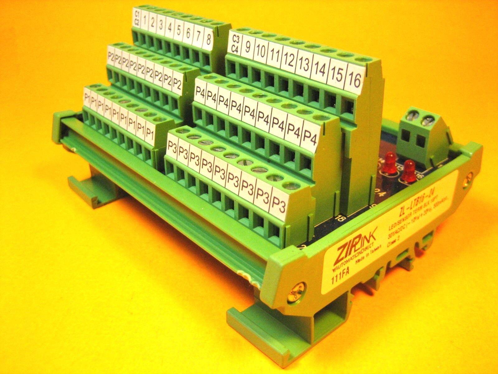 Sensor Terminal Blocks : Ziplink zl ltb led sensor terminal block