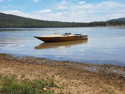 V8 Whittley Ski Boat and Trailer
