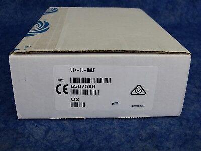 NEW Crestron UTK-1U-HALF Under-Table Mounting Kit for 1RU Half-Width Devices