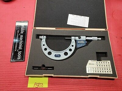 Excellent Mitutoyo Digital Thread Outside Micrometer 3-4 Resolution .0001 P500