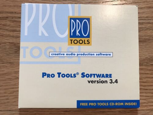Pro Tools Software Version 3.4