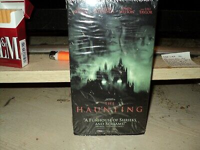 The Haunting (VHS, 1999) CATHERINE ZETA-JONES,LILI TAYLOR,LIAM NEESON,OWEN WILSO