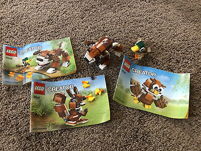 Lego Creator 3 in 1 Park Animals 31044 w/ instructions, Complete, Retired