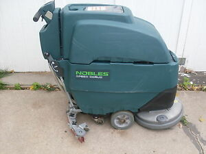 noble floor machine