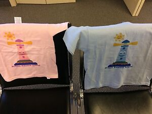 NEW children's t-shirts PEI lighthouse