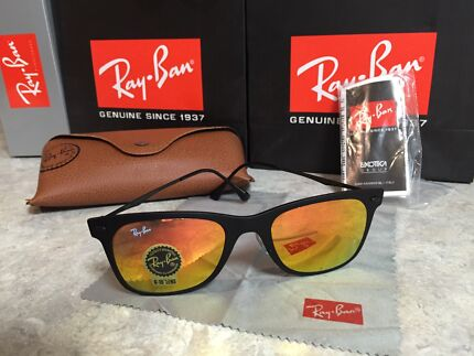 New Authentic RayBan Light Ray Flash Lens 50mm  RRP $204 East Gosford Gosford Area Preview