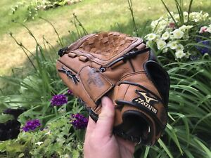 "Baseball glove Mizuno Youth 12"" leather Power close A1"