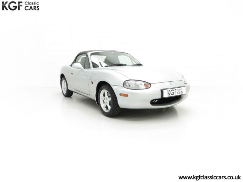 Image of An Immaculate Mazda MX5 1.6i with Only 13,061 Miles and Same Driver from New
