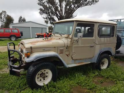Toyota FJ 40 Landcruiser Project short wheel base 77 model Lockwood South Bendigo Surrounds Preview