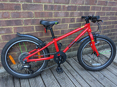 Frog 52 Red Kids Hybrid Bike With Gears