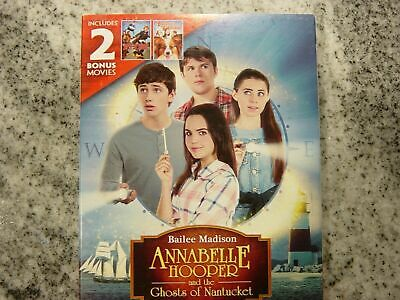 Annabelle Hooper Ghosts of Nantucket / Spy School & Bracelet Of Bordeaux DVD New