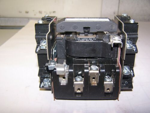 GE GENERAL ELECTRIC SIZE 1 CONTACTOR 120 VOLT COIL 10 HP 3PH CR306CO**ACET