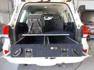 Rear Drawers for 4WD, 4x4 perth camping