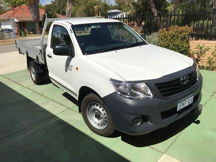 2014 Toyota Hilux Workmate **12 MONTH WARRANTY**